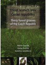 obálka knihy 30 lesních trav ČR