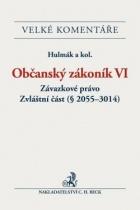 Občanský zákoník VI. Závazkové právo. Zvláštní část