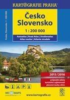 Česko, Slovensko, autoatlas 1 : 200 000