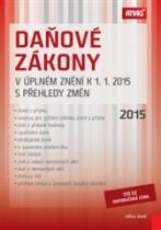 Daňové zákony v úplném znění k 1. 1. 2015 s přehledy změn