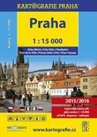 Praha - atlas města, 1 : 15 000