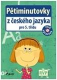 Pětiminutovky z českého jazyka pro 5. třídu