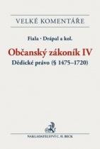Občanský zákoník IV. Dědické právo (§ 1475-1720)