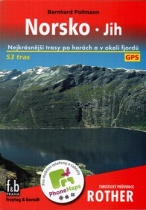 Norsko - jih - Turistický průvodce Rother
