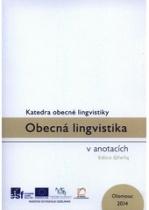 Obecná lingvistika v anotacích