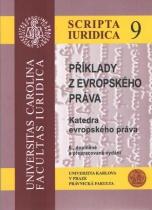 Příklady z evropského práva