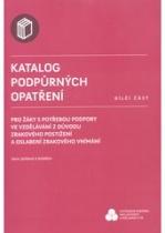 Katalog podpůrných opatření, dílčí část, Pro žáky s potřebou podpory ve vzdělávání z důvodu zrakového postižení a oslabení zrakového vnímání