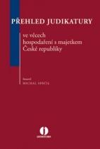 Přehled judikatury ve věcech hospodaření s majetkem České republiky