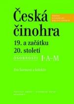Česká činohra 19. a začátku 20. století