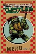 Želvy Ninja - Menu číslo 3