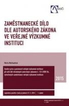 Zaměstnanecké dílo dle autorského zákona ve veřejné výzkumné instituci
