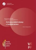 Ochrana slabší strany v českém právu
