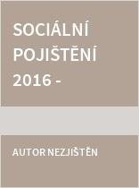 ÚZ č. 1121 Sociální pojištění 2016