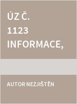 ÚZ č. 1123 Informace, eGovernment