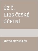 ÚZ č. 1126 České účetní standardy 2016