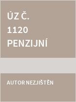 ÚZ č. 1120 Penzijní spoření a připojištění