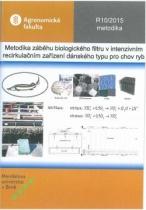 Metodika záběhu biologického filtru v intenzivním recirkulačním zařízení dánského typu pro chov ryb