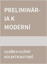 Preliminária k moderní mluvnici češtiny