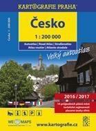 Česko - velký autoatlas, 1 : 200 000