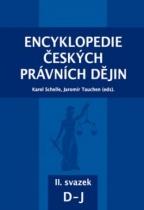 Encyklopedie českých právních dějin II., svazek D - J
