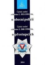 Zákon o obecní policii, zákon o přestupcích