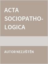 Acta sociopathologica