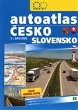 Autoatlas Česko Slovensko 1 : 240 000