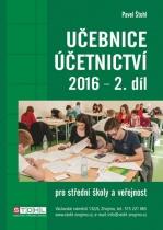Učebnice Účetnictví 2016 - II. díl