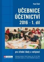 Učebnice Účetnictví 2016 - I. díl