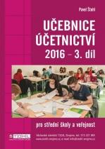 Učebnice Účetnictví 2016 - III. díl