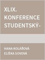 XLIX. konference studentských vědeckých prací - sborník abstrakt + programy
