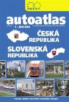 Autoatlas Česká republika, Slovenská republika 1:240 000