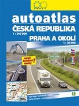 Autoatlas Česká republika 1:240 000 + Praha a okolí 1:20 000