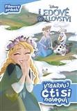 Ledové království - Vybarvuj, čti si, nalepuj