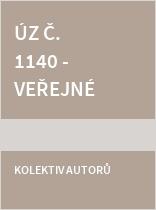 ÚZ č. 1140 Veřejné zakázky