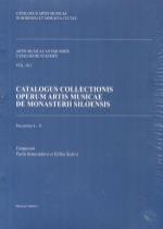 Catalogus collectionis operum artis musicae de monasterii Siloensis