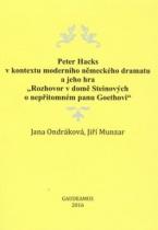 Peter Hacks v kontextu moderního německého dramatu a jeho hra