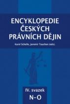 Encyklopedie českých právních dějin IV., svazek N-O