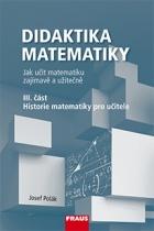 Didaktika matematiky, III. část