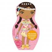 Oblékáme indiánské panenky - Aponi