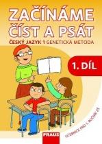 Začínáme číst a psát: Český jazyk 1 - genetická metoda