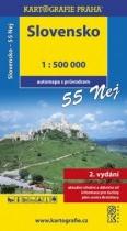 Slovensko -  automapa 1 : 500 000