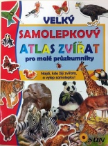 Velký samolepkový atlas zvířat
