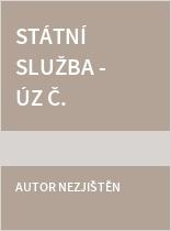 Státní služba - ÚZ č. 1161