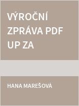 Výroční zpráva PdF UP za rok 2015