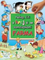 Nalep, čti a hraj si se samolepkami - Farma