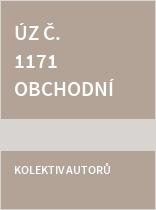ÚZ č. 1171 Obchodní korporace