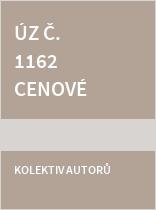ÚZ č. 1162 Cenové předpisy