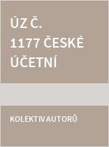 ÚZ č. 1177 České účetní standardy 2017