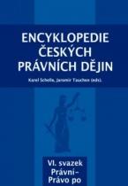 Encyklopedie českých právních dějin VI., svazek Právní-Právo po